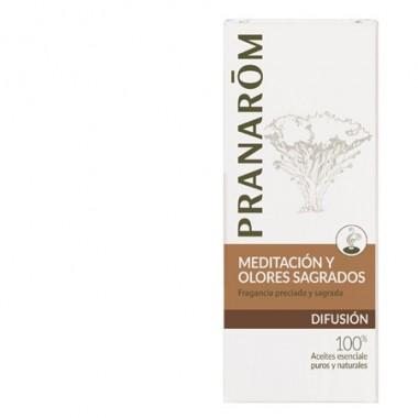 Pranarom mezcla para difusor meditación y olores sagrados