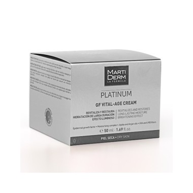Martiderm vital-age platinum pieles secas y muy secas 50 ml