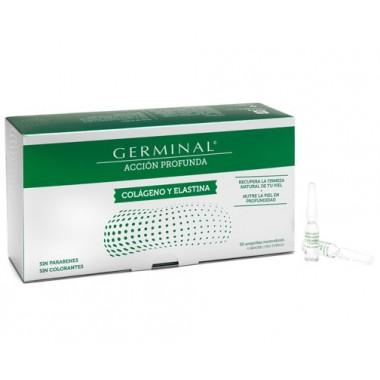Germinal 30 ampollas colágeno y elastina